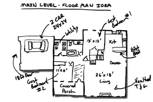 custom floorplan